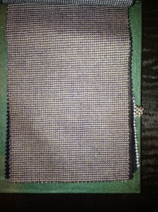 Amazing new sportscoat cloth from Dormeuil's Amadeus jacket collection in a fawn houndstooth.