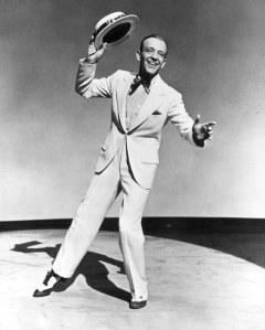 These three images show perhaps the best dreseed slight man ever, Fred Astaire, do everything right.
