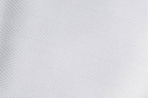 white herringbone