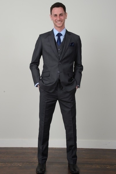 THE ESSENTIALS: THE CHARCOAL SUIT | The man in a suit