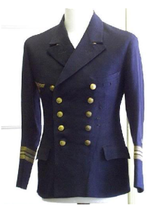 An original Navy Double breasted