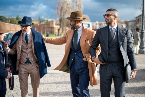 pitti | The man in a suit